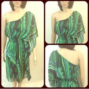 London Times Green summer dress
